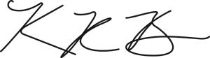 Kevin Bain's Signature